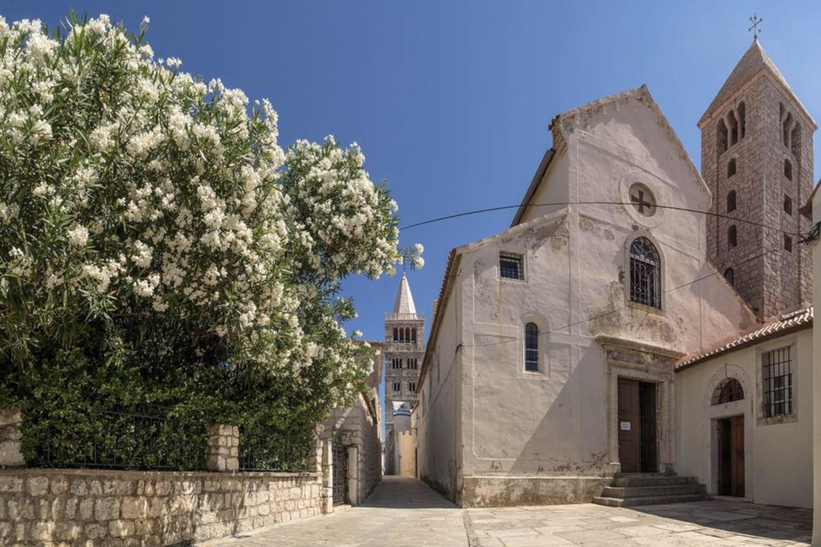 RAB: Samostan svetog Andrije – posebna rapska veza sa svijetom