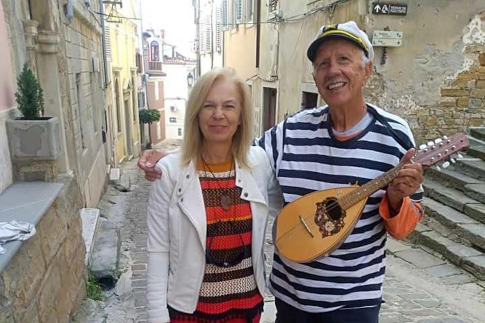 ROVINJ: Pjesma o rovinjskom veslaču na ulicama Pirana